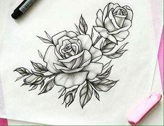 Middle Back Tattoo - Tattoo Ideen Wolf - Simple Flower Tattoo - - - Tattoo Femininas Renda Trendy Tattoos, Unique Tattoos, New Tattoos, Body Art Tattoos, Sleeve Tattoos, Tattoos For Women, Tatoos, Small Tattoos, Rose Drawing Tattoo