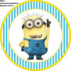 Despicable Me Free Printable Candy Bar Labels.   Oh My Fiesta! in english