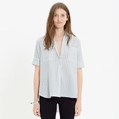 Courier Shirt in Stripe $70