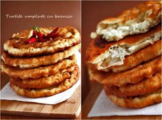 Turtite umplute cu branza - retete culinare aperitive. Reteta de turtite umplute cu branza, ingrediente si mod de preparare. Turtite umplute cu branza aperitiv. Romanian Food, Romanian Recipes, Salty Cake, Puddings, Entrees, Foodies, Deserts, Food Porn, Food And Drink