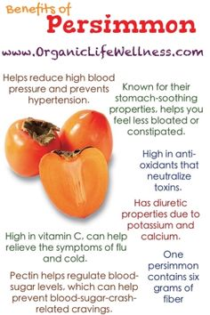 Benefits of Persimmon. All the reason you NEED to be eating this fruit! #healthy #healthyfood #food #persimmon