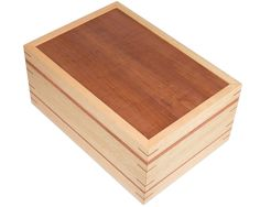 Large Wooden Keepsake Box #warawoodshed