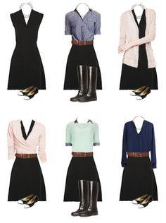 Маленькое черное платье должно быть в гардеробе каждой женщины. А пока вы выбираете свое-любимое, мы показываем 6 разных вариантов, как можно обыграть его.