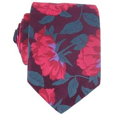 Loganberry Tudor Rose Knot Tie by Duchamp
