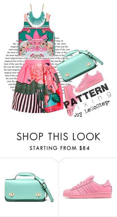 """Spring #111"" by legostep ❤ liked on Polyvore featuring adidas, adidas Originals and Mary Katrantzou"