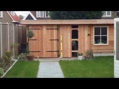 Zelf tuinhuis deuren maken op maat!