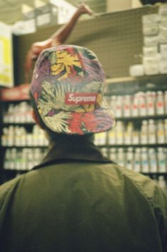 Let's just say that any boy in a Supreme hat has my attention for at least a second.