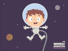 Astronaut by Maria Keller