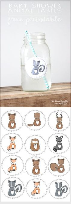 There are tons of baby shower games out there to choose from. Below is a list of creative baby shower games we think you and your guests will really enjoy. Baby Shower Labels, Free Baby Shower Printables, Baby Shower Parties, Baby Shower Themes, Baby Shower Invitations, Free Printables, Shower Party, Party Invitations, Printable Party