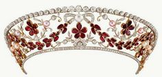 Tiara Thursday: The Rosenborg Kokoshnik