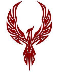 Stylized Skyheld Phoenix by Koloszrodos on DeviantArt Bild Tattoos, Body Art Tattoos, New Tattoos, Tribal Tattoos, Elephant Tattoos, Tattoo Art, Tatoos, Arte Tribal, Tribal Art