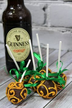 Guinness Chocolate Cake Pop Recipe
