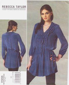 Vogue American Designer Pattern V1255 Rebecca by CloesCloset, $15.00