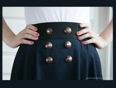 Simple Pleated Skirt Pattern