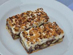 Víte, jak na Wiener Prater torte? Czech Recipes, Russian Recipes, Ice Cream Desserts, Mini Desserts, Wiener Prater, Surprise Recipe, Sandwich Cake, Healthy Dessert Recipes, Frozen Treats