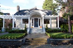 Perfect curb appeal addition for a house with a ho-hum entrance and dysfunctional porch.