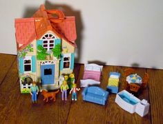 Fisher Price Sweet Streets Loving Family Country Cottage Doll House | eBay