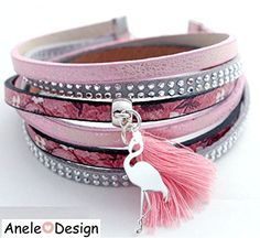 Cuff loving woman Flamingo Silver Pink black and white tassel trend infinity love Crystal Materials: Silver Metal, glass Bracelets Liberty, Infinity Love, Panda Love, Unicorn Gifts, Pink Grey, Flamingo, Tassels, Bronze, Crystals