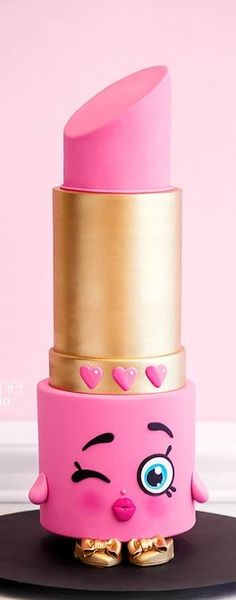 Shopkins Lipstick Cake                                                                                                                                                     More
