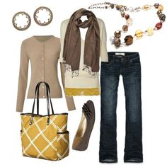 Heading to the local orchard to pick apples or stepping out to watch the leaves change; the statement making Barcelona necklace and Chantilly earrings help you pull together that casual & trendy look for fall!