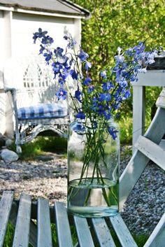 VIBEKE DESIGN: Summer flowers from garden