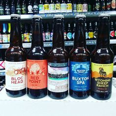 New Beers. 5 new beers from @buxtonbrewery in stock now