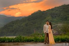 Dhanika Choksi- A beautiful sunrise PreWedding PhotoShoot at Aamby valley