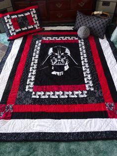 Jude Waymon's Darth Vader Star Wars Quilt