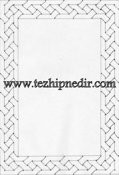 Illumination – Page 5 – Illumination Art - Mirror Ideas Islamic Art Pattern, Pattern Art, Celtic Border, Graph Paper Art, Illumination Art, Arabic Design, Turkish Art, Geometry Art, Pretty Designs