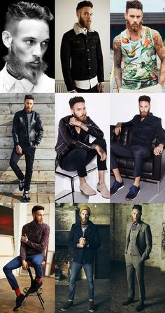 Billy Huxley Editorials, Lookbooks and Campaigns