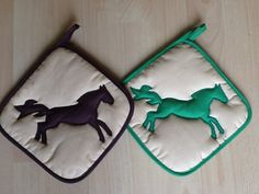 2014 is the year of the horse!  Horse potholder?