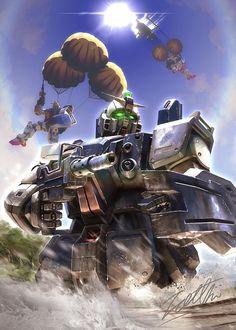Arte Gundam, Gundam Art, Warhammer 40k Memes, Mecha Anime, Super Robot, Ex Machina, Robot Design, Gundam Model, Neon Genesis Evangelion