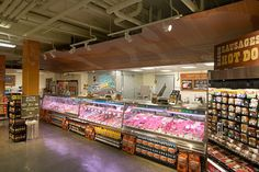 Some retail design inspiration for entrepreneurs from Whole Foods Markets - great looking store!  #www.instorevoyage.com #in-store marketing #visual merchandising