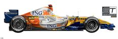 F1 2008, Ferrari, Mclaren Mp4, Alonso, Formula One, Race Cars, Vehicles, Racing, Grand Prix