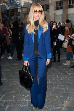 Im so loving the blue! Rachel Zoe at Giabattista Valli