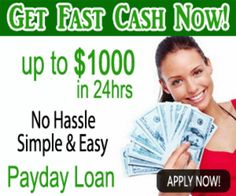 Need emergency cash? Get up to USD1000.00 deposited into your bank account within 24 hours.