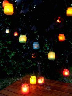 Farolillos reciclados / Recycled lanterns « La Factoría Plástica