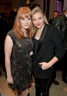 Jessica Chastain and Chloe Grace Moretz attend HFPA & InStyle's 2014 TIFF Celebration at the Windsor Arms Hotel on September 5, 2014 in Toronto, Canada.