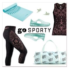 """""""Go Sporty: Athleisure"""" by delucia ❤ liked on Polyvore featuring NIKE, nike, sportstyle, athleisure and gosporty"""