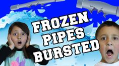 So this video starts off about 45 minutes after cleanup began, we had to get most of the water up before goofing around but now we realized, we could have st. Flooded House, Frozen Pipes, Winter, Board, Youtube, Winter Time, Youtubers, Planks, Winter Fashion