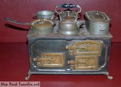 doll stove by mrsmecomber, via Flickr