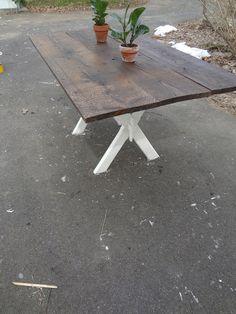 Heir and Space: A Chestnut Barnboard Dining Table