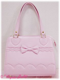 Angelic Pretty / Bags & Wallets / Scalloped Heart Dolly Bag