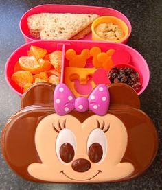 Minnie Mouse Bento! #bento