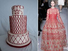 Valentino in sugar: Cakes go couture for Ayoma Fonseka | National Post