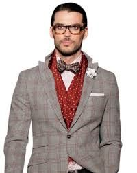 Resultado de imagen para plaid tie styling