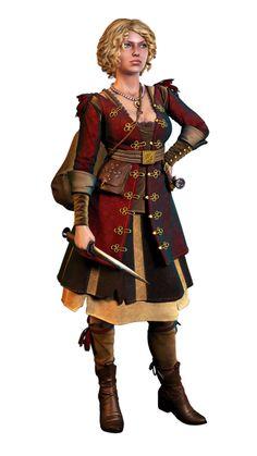 Brygida Papebrock - to nowa postać przedstawiona w Edycji Rozszerzonej do gry Wiedźmin 2: Zabójcy Królów. Trzydziestoletnia informatorka Vernona Roche'a, pochodzi z temerskiej rodziny Papebrock i była niegdyś damą temerskiego dworu, przed odkryciem przyczyny zniknięcia nieślubnego syna Foltesta Boussy'ego. Lilie i Żmije, Świadek koronny