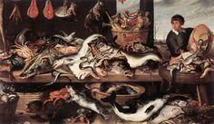 * Frans Snyders - - - Fishmonger's