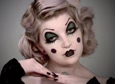 10 Cute 'n' Creepy Clown Makeup Ideas for Halloween | Divine Caroline