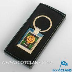 Lindsay Clan Crest Keyfob